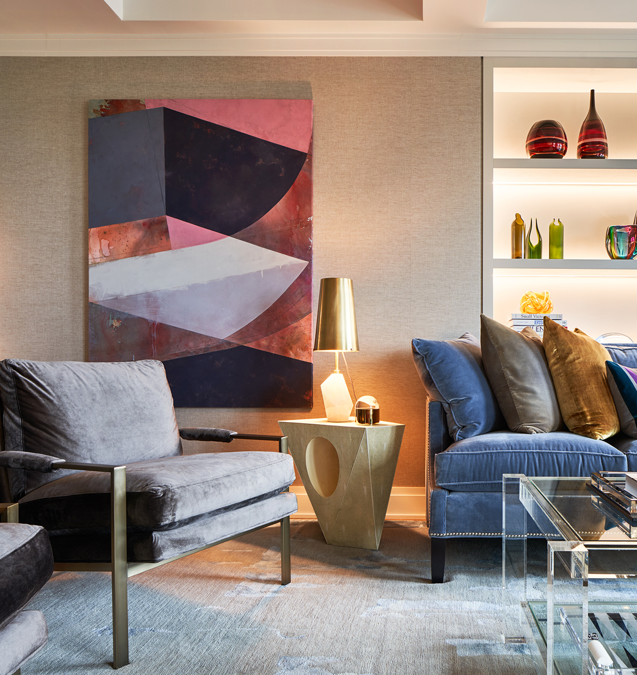 Redesigned living room | Francis Interiors