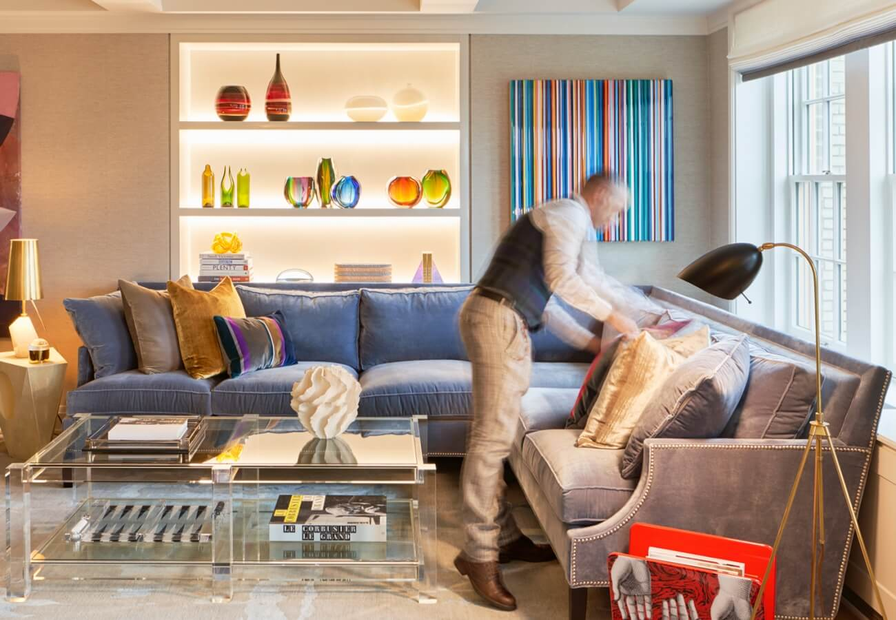Francis styling living room | Central Park West