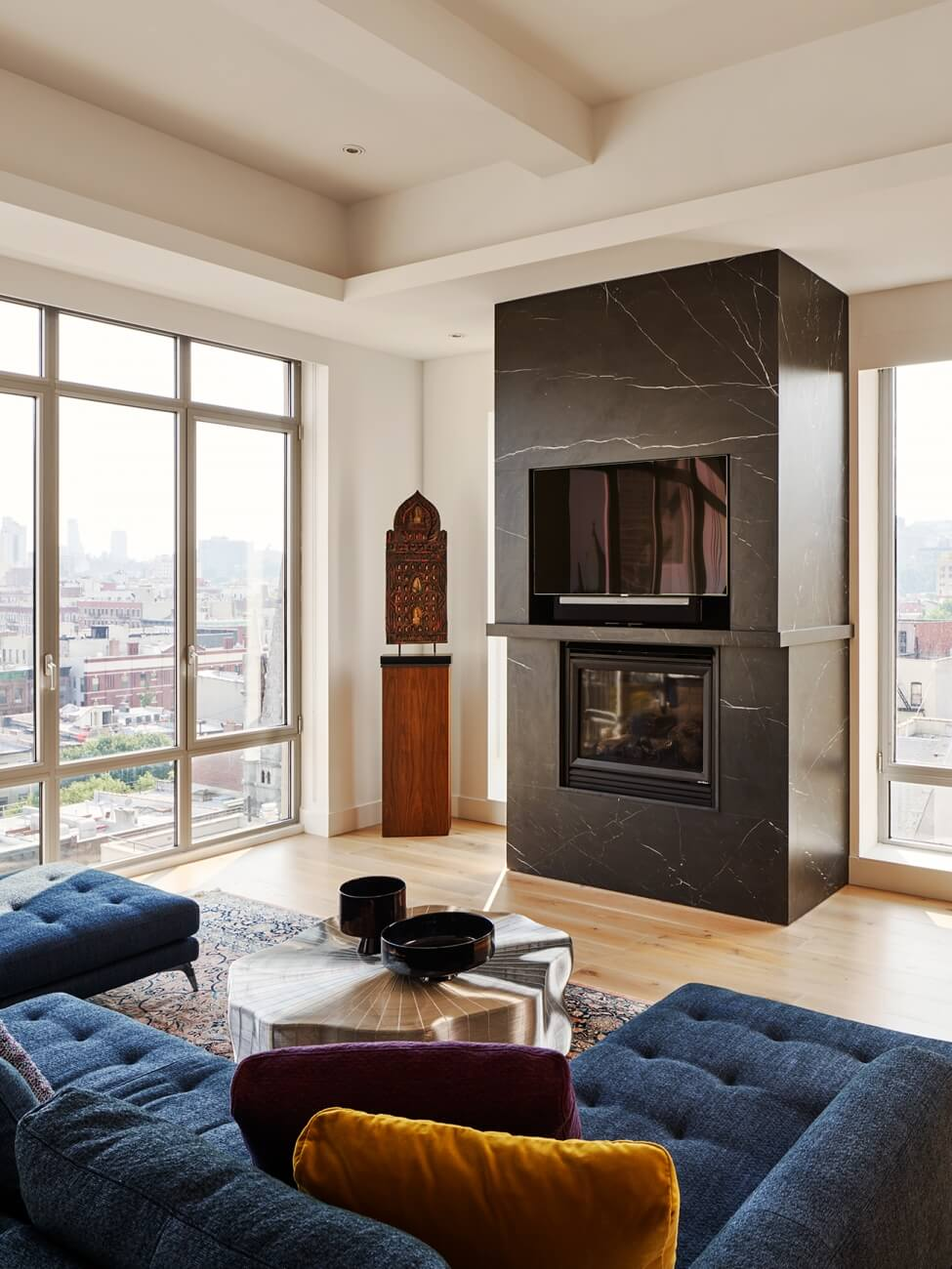 Custom Contracting - Central Harlem Fire Place